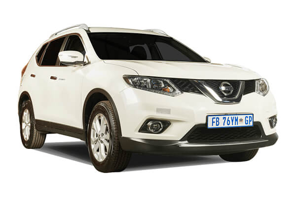 nissan x trail 4x2 manual suv rental ideal travel south africa. Black Bedroom Furniture Sets. Home Design Ideas